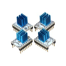 Compatible Motherboards NZ - Freeshipping 4pcs\lot MKS TMC2100 Stepper Motor Driver Stepstick Compatible with 32 bit Controller Lerdge Motherboard