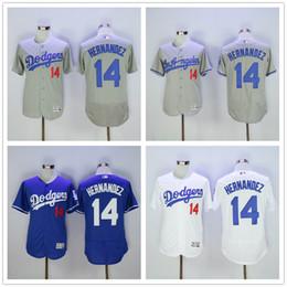 4973990add1 ... Men Los Angeles Dodgers Jerseys 14 Enrique Hernandez Jersey Flexbase Cool  Base Home Away White Red ...