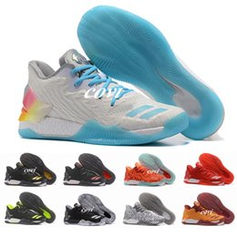 4b64d9703d32 New 11 Colors D Rose 7 Low Englewood Boost Men Basketball Shoes Derrick  Oreo BHM Bruce Pink 7s Casual Sports Sneakers Size 40-46 derrick rose low  on sale