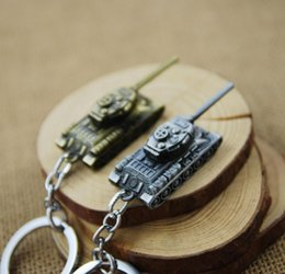 world cars Australia - 3D World of Tanks Key chain Metal Key Rings For Gift Chaveiro Car WOT Keychain Jewelry Game Key Holder Souvenir