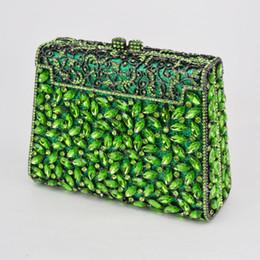 $enCountryForm.capitalKeyWord Australia - Silver Box Bag Diamond Women Clutch Bag Crystal Party Handbag Ladies Banquet Purse Fashion Pochette Prom Evening bag SC452