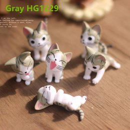 Wholesale Small Ornament Landscape Mini Cats Micro Models For Garden Ornaments Cats For Potted Home Bonsai Decor Gardening Tools