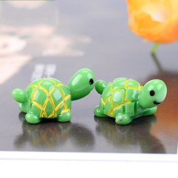 Turtles Blocks Canada - Mini Turtle Moss Eco Bottle Decorate Cartoon Animal Garden Micro Landscape Resin Lovely Ornament Wear Resistant 0 6cj C R