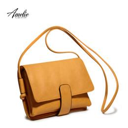 Discount amelie bag - AMELIE GALANTI 2016 new Fashion crossbody bag satchels High Quality solid Ladies Office Messenger Shoulder Bags
