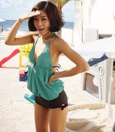 $enCountryForm.capitalKeyWord NZ - Maikun Fashion Korean Style Stripe Pattern Bikini Hot Sale Retro Swimwear Fashion Swimsuit Free Shipping Brand New