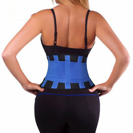 xtreme hot belt UK - Waist Trainer Cincher Man Women xtreme Thermo Power Hot Body Shaper Girdle Belt Underbust Control Corset Firm Slimming 50pcs