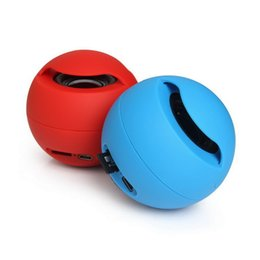 Wholesale Magic Ball Bluetooth Mini Speaker Wireless Portable Subwoofers Stereo Sound Box TF MP3 Music Player FM Handsfree for Phone