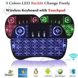 $enCountryForm.capitalKeyWord Canada - Backlit Air Mouse Wireless Mini Keyboard with Touchpad Rii i8 Backlight Remote Control for Android Smart TV Box Mini PC HTPC Xbox 360 PS3