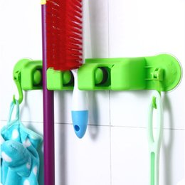 $enCountryForm.capitalKeyWord Canada - New Arrival 2 IN 1 Kitchen Mop Broom Holder Wall Mounted Organizer Hanger Towel Hook hooks for towels wall hanger E5M1 order<$18no track