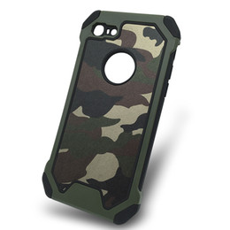 $enCountryForm.capitalKeyWord Canada - 200pcs Luxury Hybrid PC & TPU Phone Case Army Camo Camouflage Phone Case for iphone 7 4.7 inch Armor Protective Shell Cover Coque