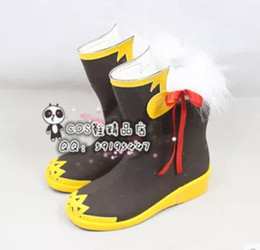 cos shoes 2019 - Wholesale-MapleStory MapleStory online cos Cosplay Shoes Boots shoe boot #JZ271 anime Halloween Christmas cheap cos shoe