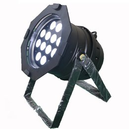Bulb Case Australia - Free shipping 6 Lights lightmaXX COMPLETE PAR 64 BLACK 12x18W RGBAW+UV 6in1 Par Cans with PWM with Flight case