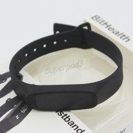 Pet G Canada - DHL Free Bluetooth BitHealth Z2 Smart Watch TPU Bracelet OLED G-Sensor Vibrator Call SMS Reminder Sleep Monitor Activity Tracker SmartBand