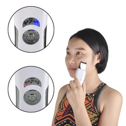 $enCountryForm.capitalKeyWord Canada - portable skin scrubber Ultrasonic Pore Cleaner Facial Face Cleanser Skin Care High Frequency Vibration Deep Clean Massager 0609012