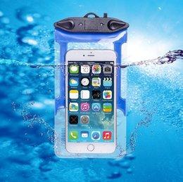 Großhandel Wasserdichte Unterwasser-Handytasche Tasche für iPhone 6 6s plus 5 5c 5s 4s für Samsung