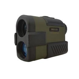 Camping Hiking Telescope UK - High Accuracy 600M Golf Hunting Rangefinder OLED Display Waterproof Laser Speed And Range Finder Camping Hiking Monocular Telescope