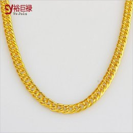 $enCountryForm.capitalKeyWord Canada - 2016 New Golden Necklace Personality tide Coarse Big Hip Hop Fashion Jewelry Pendant For Women Men 18K Gold Men Chain Necklace Gold Unisex