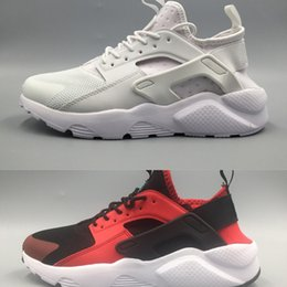 Discount cheap huaraches shoes - Womens Huarache Sneakers running Shoes For mens Grils Authentic Trainers Huaraches 5 Sport Shoes Size 36-45 Surface Brea