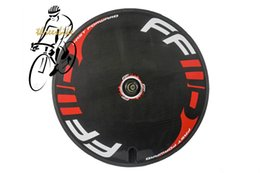 Road Cycling Speed NZ - 700C full carbon road bike disc wheel rear track bicycles cycling wheel road or fixed gear speed