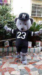 $enCountryForm.capitalKeyWord NZ - Grey teddy bear Christmas Halloween doll mascots,mascot costume high quality fancy dress adult size party Halloween,christmas party clothing