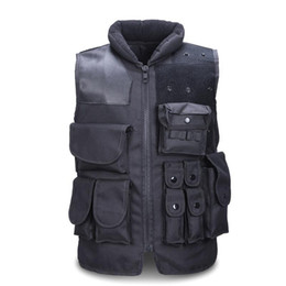 China Men's Tactical Vest Army Hunting Molle Airsoft Vest Outdoor Body Armor Swat Combat Painball Black Vest For Men supplier combat vests suppliers