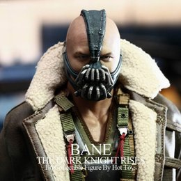 Discount bane costume 2016 Batman Bane latex Mask The Dark Knight Movie Halloween Costume Cosplayer Mask Iron man mask