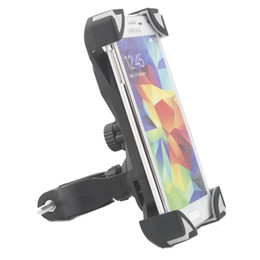 Motorcycle phone holder cradle online shopping - Universal Bike Holder Bicycle Motorcycle Handlebar Mount Cell Phone Holder Cradle with Rotate for iPhone s s c