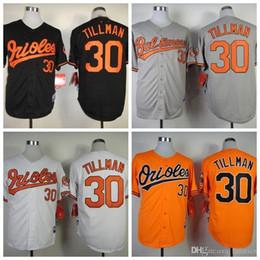 24e752bd3ae ... 2015 New Mens Baltimore Orioles 30 Chris Tillman Cool Base Gray White  Black Authentic Chris Tillman Womens Majestic ...