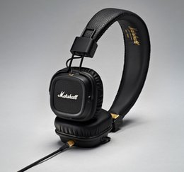 Wholesale universal studios online – design New Arrival Marshall Major II nd Generation Headphones Noise Cancelling Headset Deep Bass Studio Monitor Rock DJ HiFi headphone
