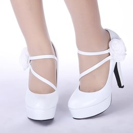 3a652567bc47 2016 Fashion new wedding high heel shoes white waterproof shoes evening  party shoes bridal wedding shoes