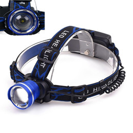 $enCountryForm.capitalKeyWord Canada - Newest 2000 LM Adjustable Focus Durable LED Headlamp Flashlight Waterproof Head Light For Camping Hiking Hunting Bicycle Lamp