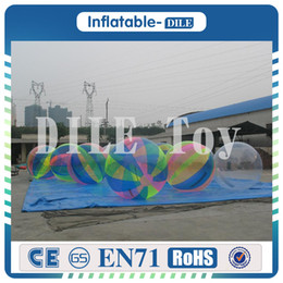 $enCountryForm.capitalKeyWord NZ - Free Shipping Clear Transparent Diameter 0.8mm PVC 2m Inflatable Water Walking Ball With Germany zipper
