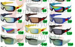 Sunglasses Summer Glasses Canada - New Arrival summer men Cycling Sports Sunglasses woman goggle Bicycle Glass Dazzle colour glasses 19 colors Only sunglasses A++free shipping