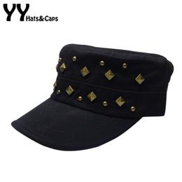 $enCountryForm.capitalKeyWord Canada - Hip Hop Rivet Snapback Cap for Men 2016 Military Hats Women Vintage Army Hat Autumn Outdoor Sports Caps Gorras Bone YY60520