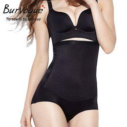 94da2edcb3c7d Wholesale- Burvogue Shapers Women Seamless High Waist Tummy Control Panty  Body Shaper Slim Body Shaper Underwear Butt Lifter Shaper Panties