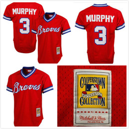 6e5c46484 ... usa stitched logos mens atlanta braves dale murphy 3 mitchell ness red  1980 authentic cooperstown collection