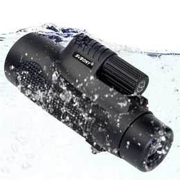 Monocular Telescope 8x42 Waterproof Fogproof Camping Hand Focus Travel Monocular for Hiking Birdwatching from new tactical gear suppliers