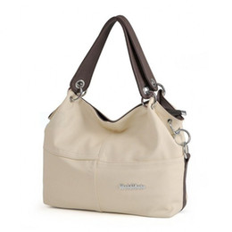$enCountryForm.capitalKeyWord Canada - Wholesale- beige pink red white green brown black big small shoulder bags handbags large capacity for lady women ladies female good quality