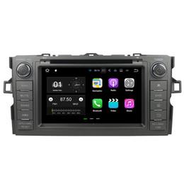 "Toyota Corolla Dvd Wifi Canada - 7"" Android 7.1 System Car DVD Recorder For Toyota Auris Hatchback Corolla WIFI 4G OBD DVR 4K Video Mirror Screen 2G RAM 16G ROM"