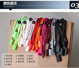 in stock Good quality pure PP natural hang tag string in apparel strings cord for garment,stringing price hangtag 19cm from dress stamps suppliers