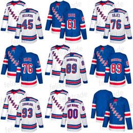 2017-18 Season Men s 61 Rick Nash 27 Ryan McDonagh 30 Henrik Lundqvist 36  Mats Zuccarello 20 Chris Kreider New York Rangers Hockey Jerseys 883a918d9