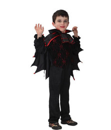 $enCountryForm.capitalKeyWord Canada - Children Devil Costume Halloween Carnival Masquerade Party Fancy Dress Kids Boys Bat Vampire Cosplay Clothes
