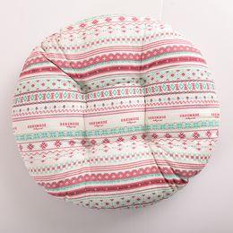 $enCountryForm.capitalKeyWord UK - Bohemia Style Cotton Home Office Car Sofa Chair Seat Round Cushion Pillow Christmas Tree Plaid Floor Mat Tatami Cushion Pad 38*38cm