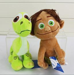 $enCountryForm.capitalKeyWord NZ - Cartoon The Good Dinosaur Arlo Spot Plush Toy Stuffed Animals Plush Doll Kawaii Baby Toys Gifts High Quality EMS