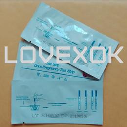 10miu / мл тест на беременность полоса Главная тест на фертильность 200 штук CE и FDA сертификат Бесплатная доставка