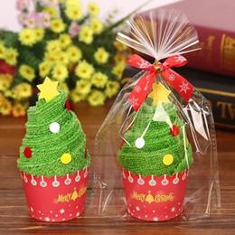 Towel Cake Cotton Christmas Creative Gift Small Box Kindergarten Prize Wedding Birthday Full Moon Return