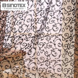 pattern printed tulle voile door window curtain living room decoration rideaux pour le salon bedroom decor