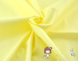 $enCountryForm.capitalKeyWord Canada - 1 meter light yellow 100% cotton twill fabric for baby's bedding fabric, DIY handmade patchwork tilda quilting textile CR-407