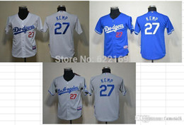 detailing 452f9 09e4b los angeles dodgers 27 matt kemp gray kids jersey