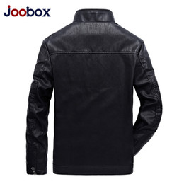 mens faux fur jackets UK - Brand Coats Mens Motorcycle Leather Jackets Outwear Overcoat Fur Liner Slim Fit Tops Warm Thick Windbreaker Joobox Christmas Day